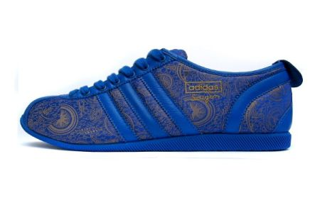 Adidas Materials of the World Saigon blue/gold