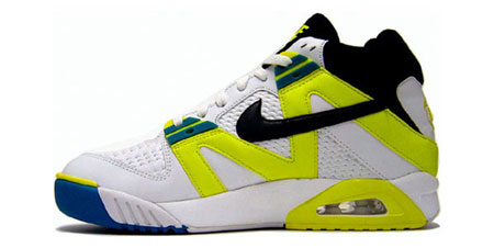 теннисные тапки Nike Air Tech Challenge Sonic Yellow