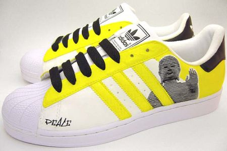 Custom sneakers Adidas Superstar II by Sole Brother