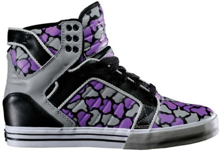 кроссовки Camo Skytop High x Chad Muska