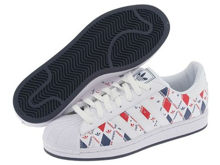 Кроссовки Adidas Superstar II Print