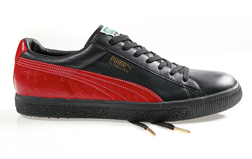 Puma Clyde Luda Red