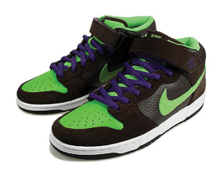 Кроссовки Nike Dunk SB Mid Donatello
