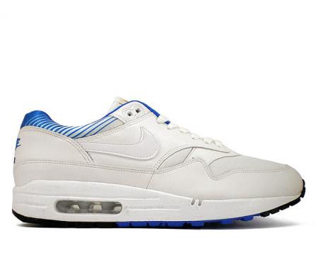 Кроссовки Nike Air  Max 1 White/New Blue