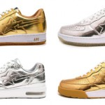 Bapesta & Roadsta Gold / Silver Metallic