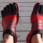 Кроссовки с пальцами adidas Adipure Trainers